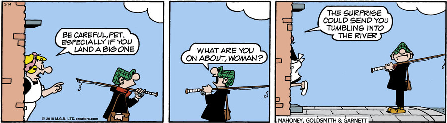 Andy Capp for Feb 14, 2018