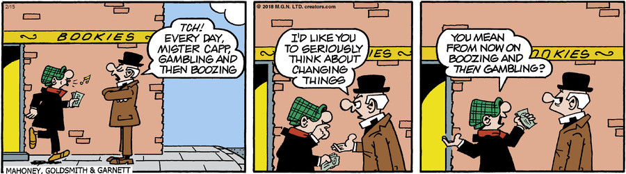 Andy Capp for Feb 15, 2018