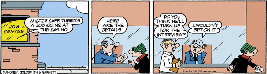 Andy Capp for Feb 17, 2018