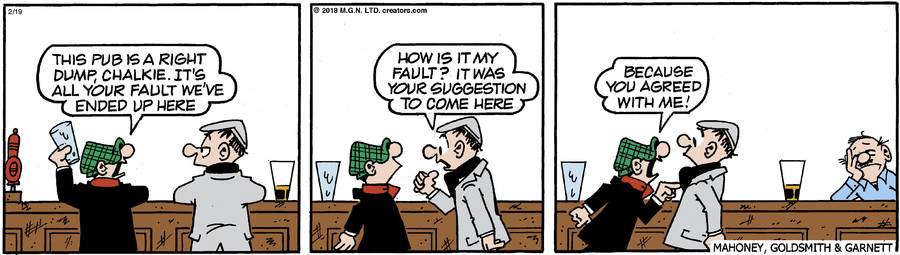 Andy Capp for Feb 19, 2018
