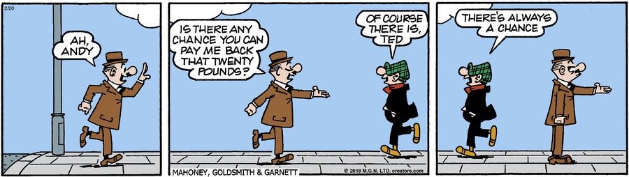 Andy Capp for Feb 20, 2018