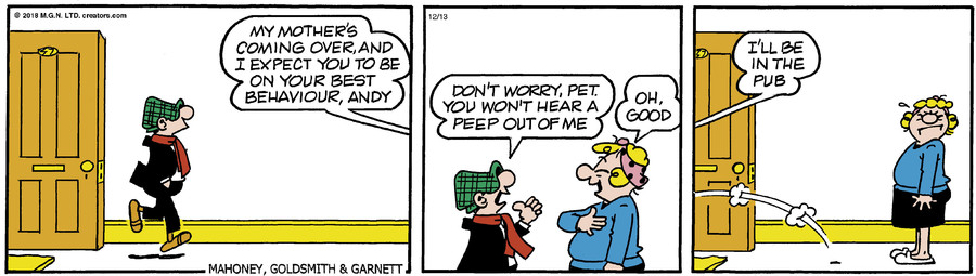 Andy Capp for Dec 13, 2018