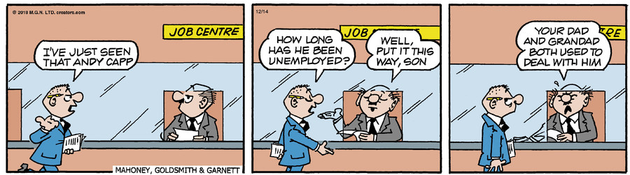 Andy Capp for Dec 14, 2018