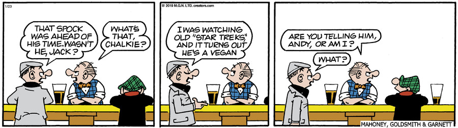 Andy Capp for Jan 23, 2019