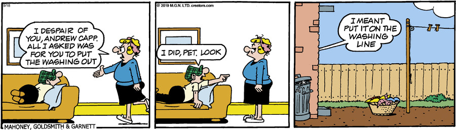 Andy Capp for Sep 18, 2019