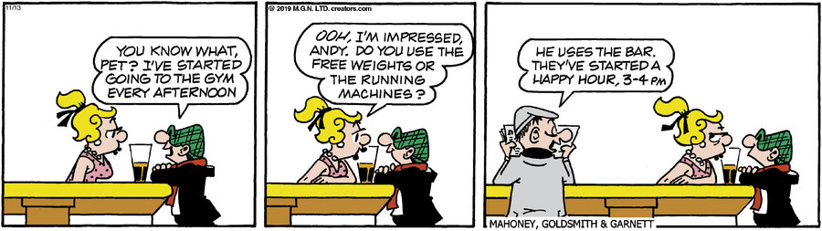 Andy Capp for Nov 13, 2019