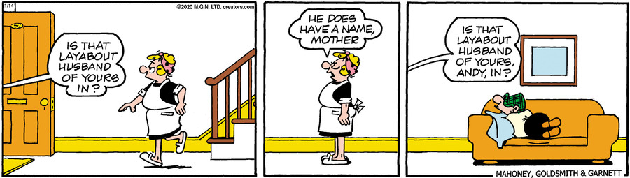 Andy Capp for Jan 14, 2020