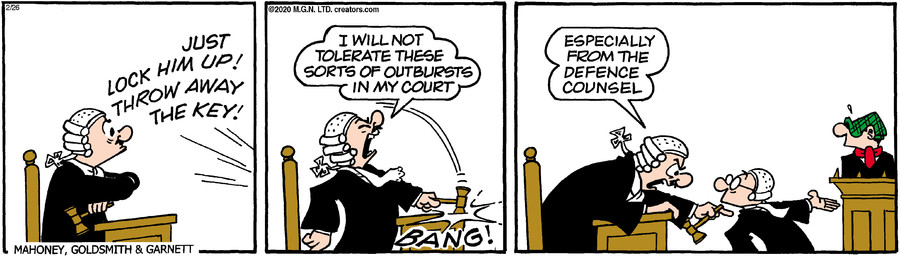 Andy Capp for Feb 26, 2020