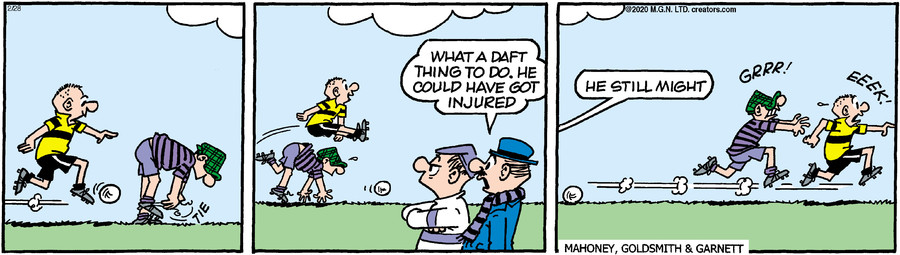 Andy Capp for Feb 28, 2020