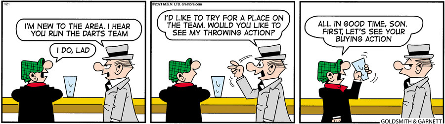 Andy Capp for Jan 21, 2021