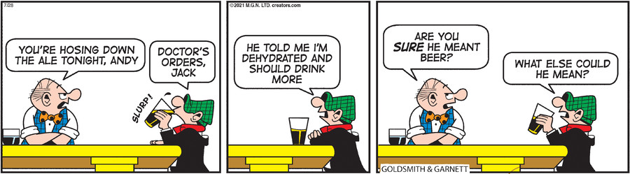 Andy Capp for Jul 28, 2021