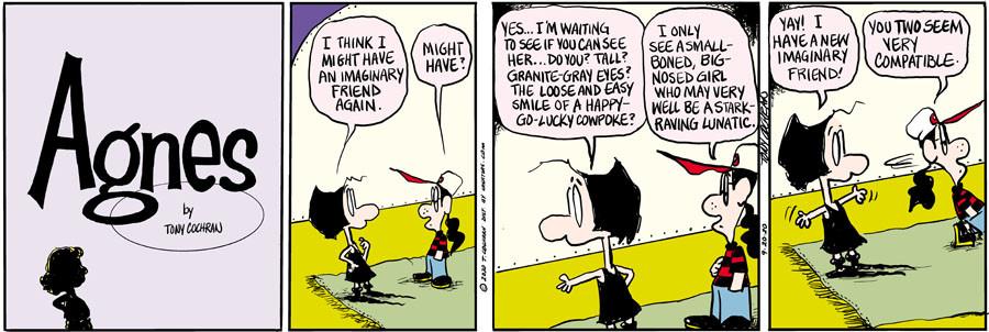 Agnes for Sep 20, 2020