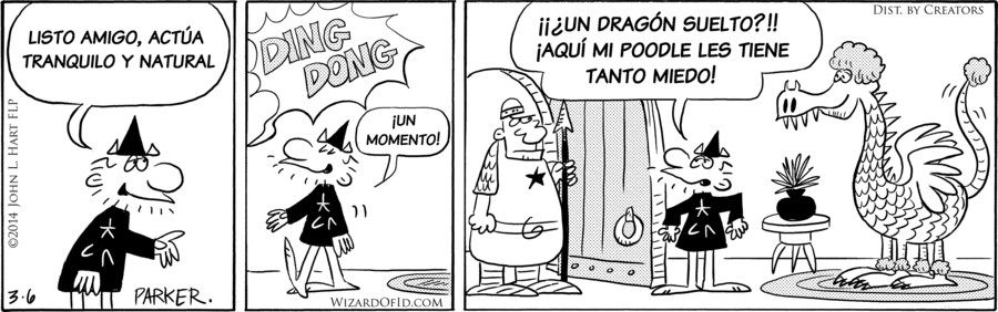 Wizard of Id Spanish for Mar 06, 2018