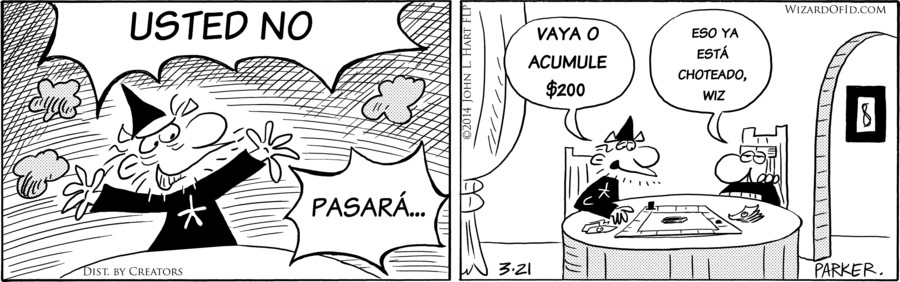 Wizard of Id Spanish for Mar 23, 2018
