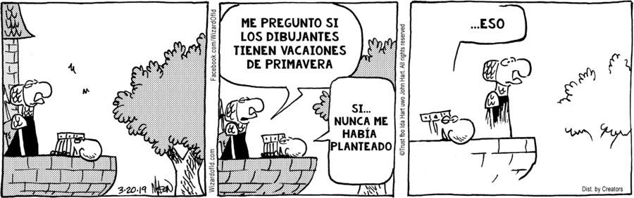 Wizard of Id Spanish for Mar 20, 2019