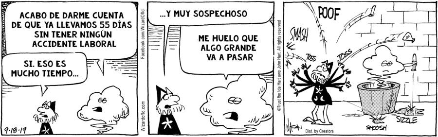 Wizard of Id Spanish for Sep 18, 2019