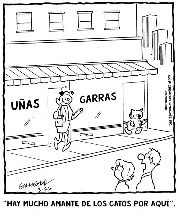 Heathcliff Spanish for Mar 26, 2019