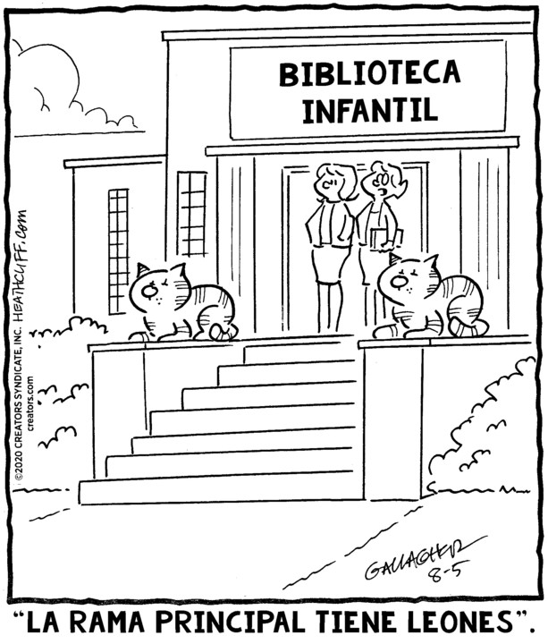 Heathcliff Spanish for Aug 05, 2020