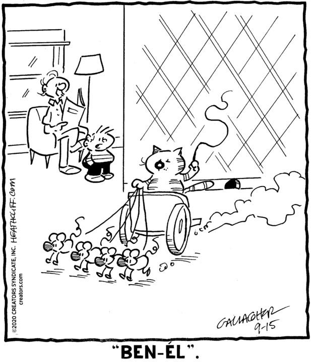 Heathcliff Spanish for Sep 15, 2020
