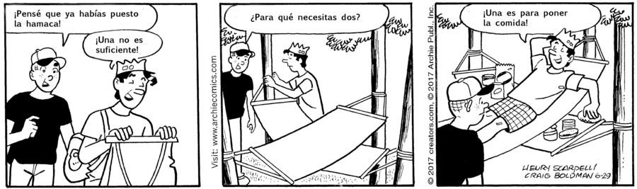 Archie Spanish for Jun 29, 2017