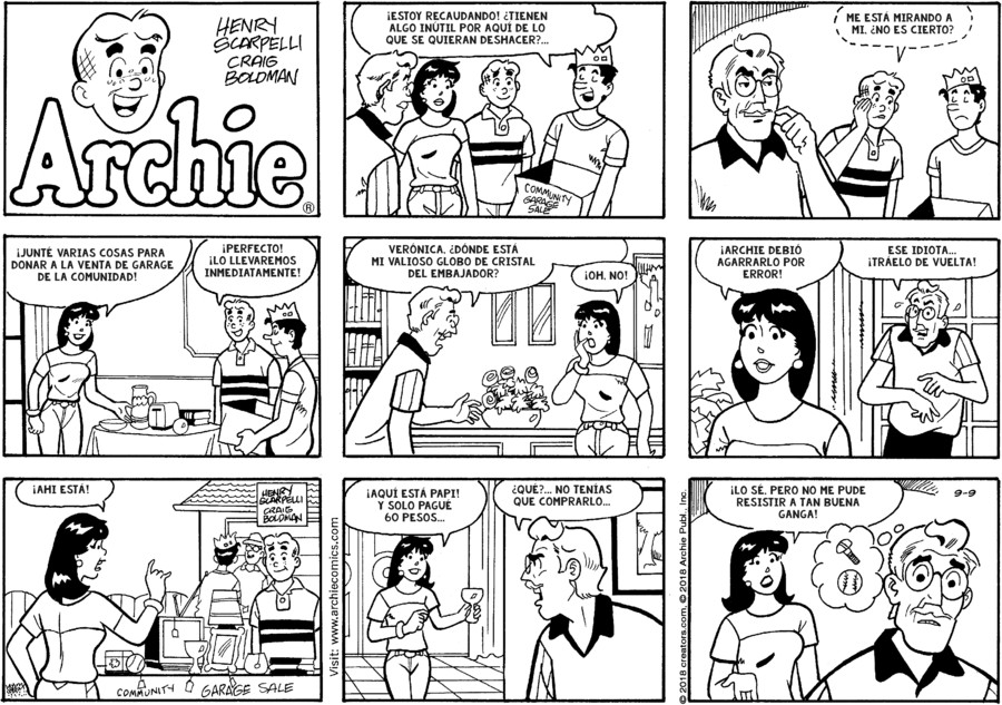 Archie Spanish for Sep 09, 2018