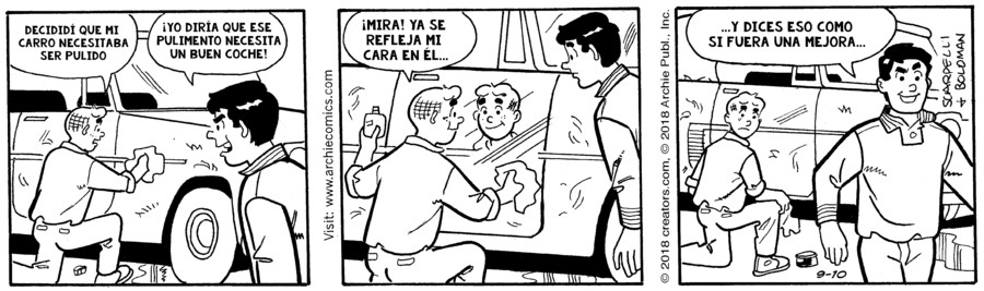 Archie Spanish for Sep 10, 2018