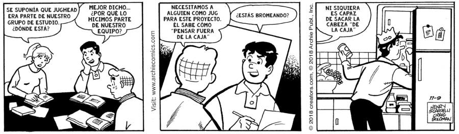Archie Spanish for Nov 09, 2018