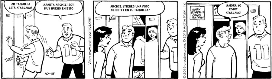 Archie Spanish for Oct 15, 2019