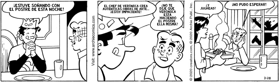 Archie Spanish for Mar 28, 2020
