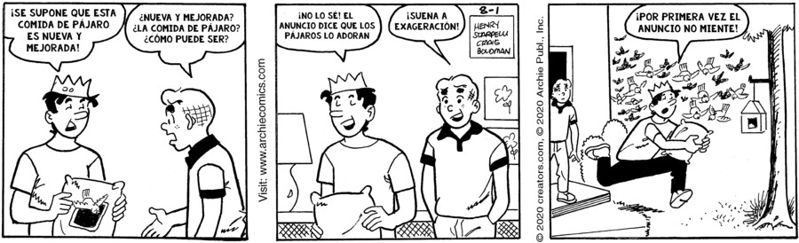 Archie Spanish for Aug 01, 2020