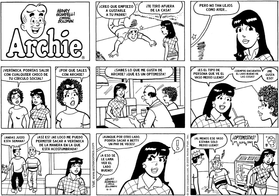 Archie Spanish for Aug 02, 2020