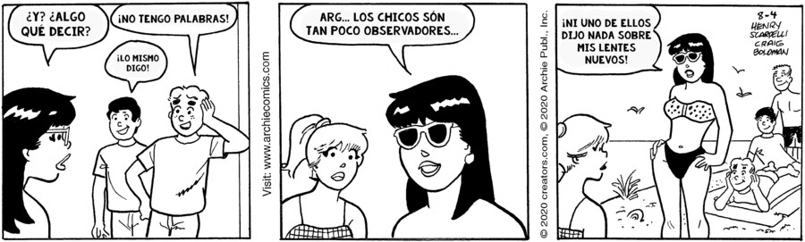 Archie Spanish for Aug 04, 2020