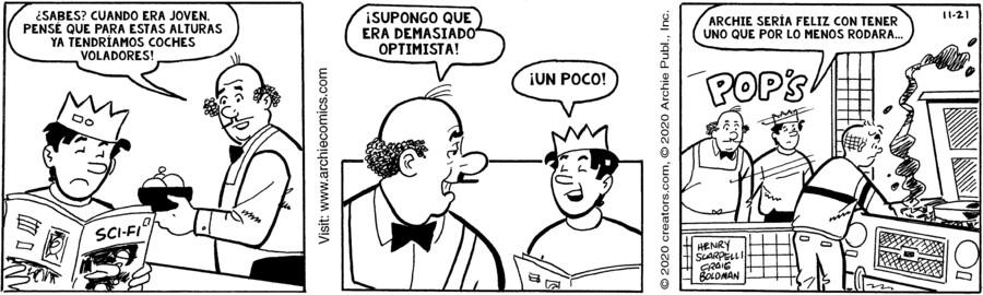 Archie Spanish for Nov 21, 2020
