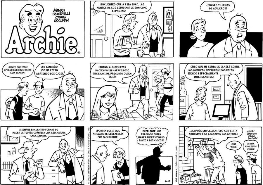 Archie Spanish for Jun 13, 2021