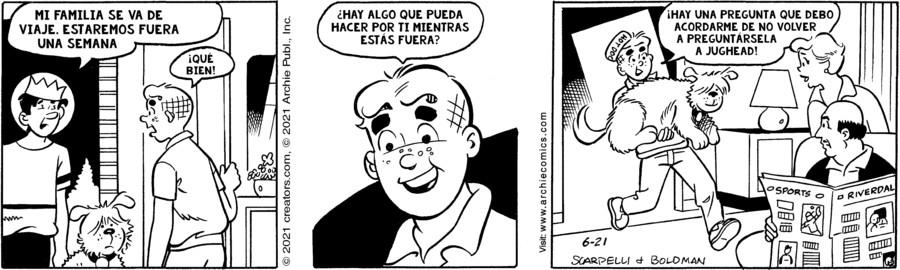 Archie Spanish for Jun 21, 2021