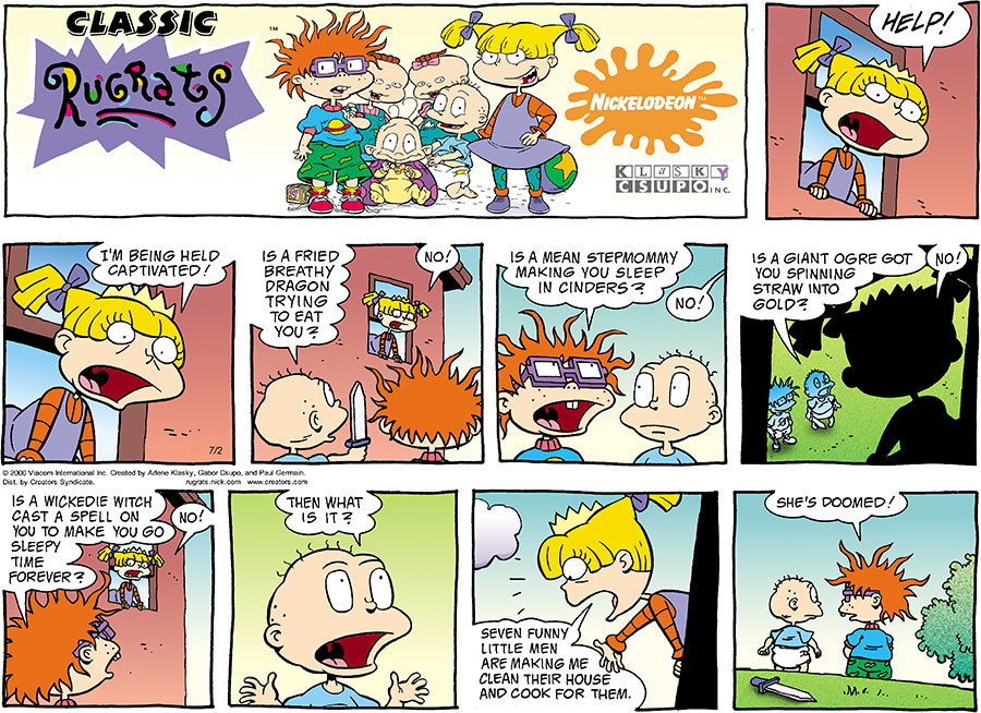Rugrats for Jul 02, 2017, by Nickelodeon   Creators Syndicate