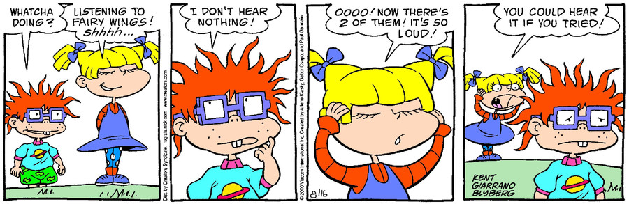 Rugrats for Aug 16, 2017