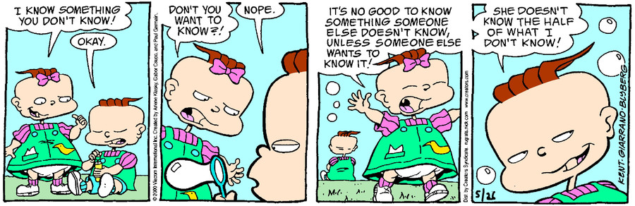 Rugrats for May 26, 2018