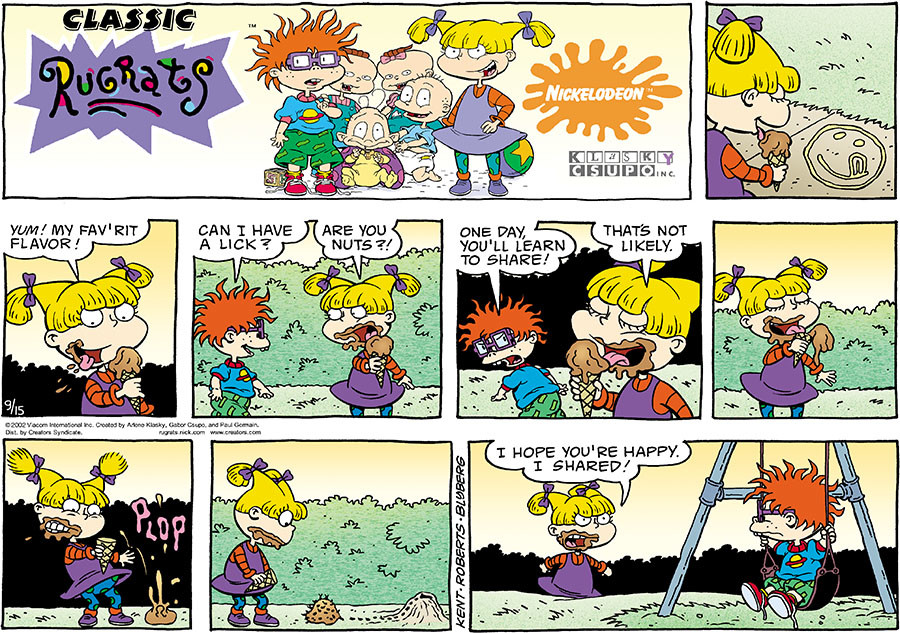 Rugrats for Sep 15, 2019