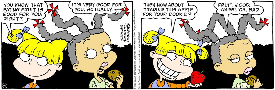 Rugrats for Sep 19, 2019