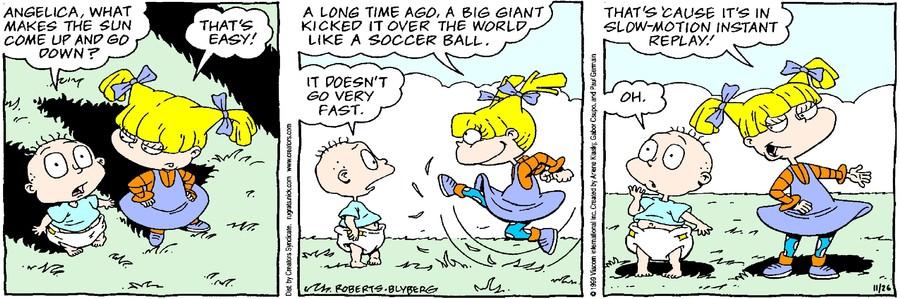 Rugrats for Nov 26, 2020