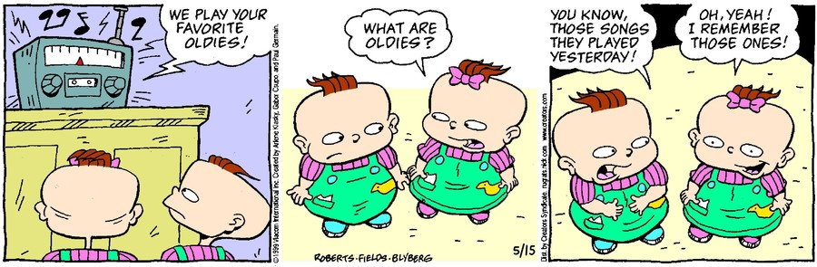 Rugrats for May 15, 2021