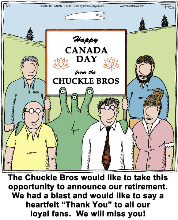 Chuckle Bros for Jul 01, 2017